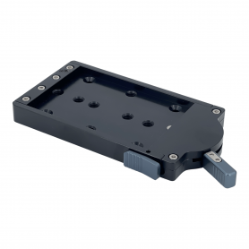 Quick Release Base Plate | Cleans Camera Support