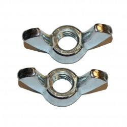 "Pack of 2 1/4"" wing nuts"