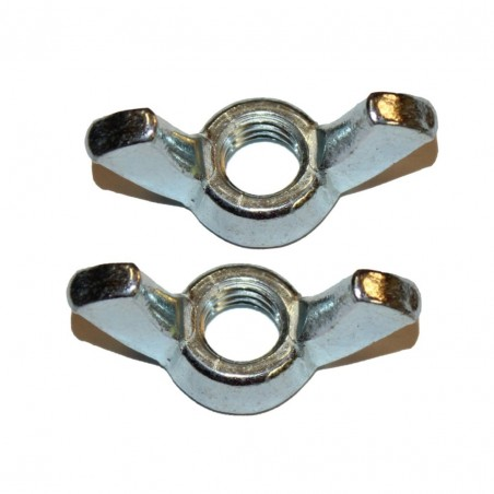 "1/4"" wing nuts - Pack of 2"