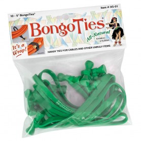 Bongoties green Pack of 10