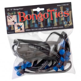 "Bongoties blue ""Azure"" - Pack of 10"