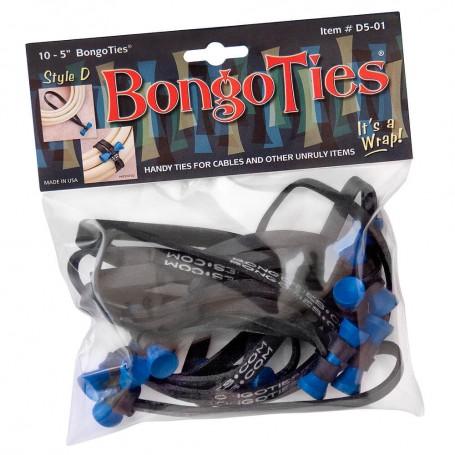 "Bongoties blue ""Azure"" - Pack of 10"