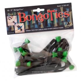 "Bongoties green ""Tree Frog"" - Pack of 10"