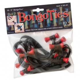 "Bongoties red ""Lava"" -Pack of 10"